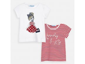 Mayoral dívčí tričko 2ks 03004-011