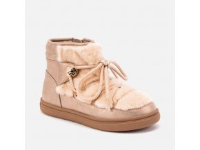 Mayoral dívčí boty s kožíškem 44037