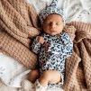 Snuggle Hunny Kids body s dlouhým rukávem Nightshade GOTS  Organická bavlna, GOTS