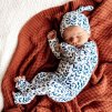 Snuggle Hunny Kids kojenecký overal Nightshade GOTS  Organická bavlna, GOTS