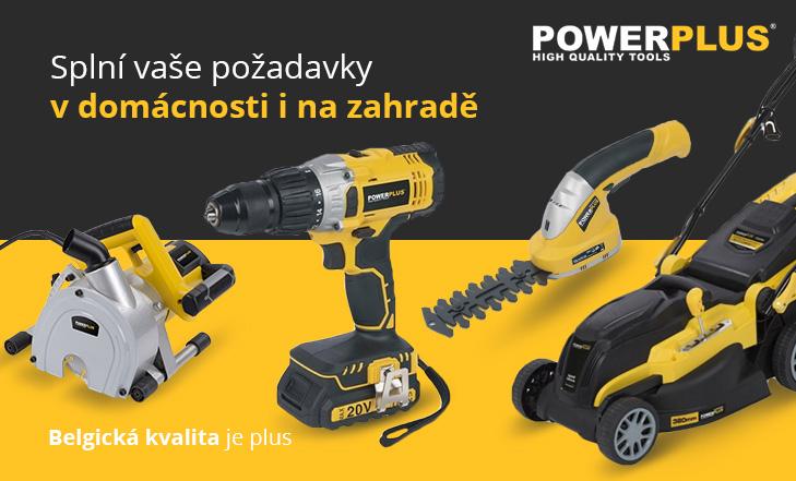 Power Plus ruční nářadí a zahradní technika