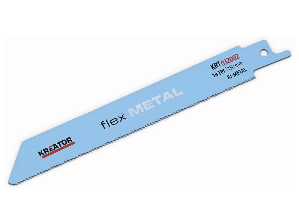 Kreator KRT032002 2 ks pilový plátek pro ocasovou pilu na kov 150-18