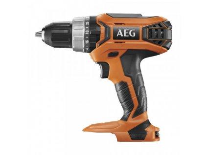 AEG BSB 18G3-0, Aku příklepová vrtačka, 18V, 60Nm, FIXTEC 13mm, bez aku a nabíječy