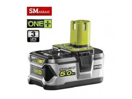 Ryobi RB18L50 Akumulátor ONE + 18V, 5,0Ah Li-on