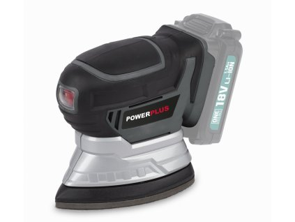 PowerPlus POWEB4020 Aku mini delta bruska 18V, plocha 140x140x80mm, bez aku a nabíječky