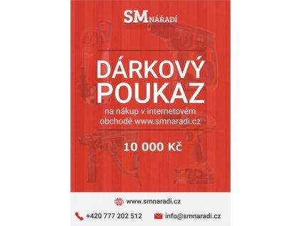 SMnářadí Dárkový poukaz 10 000 Kč