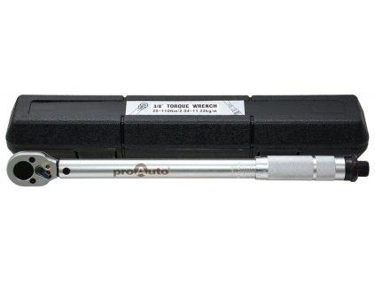 Genborx TW-110 3/8 Momentový klíč, plastové pouzdro