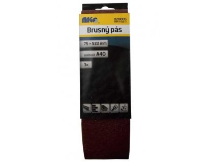 Magg Brusný pás 75x533mm A40 - 3ks
