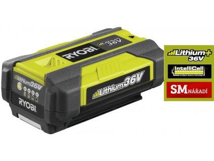 Ryobi, BPL3615 1,5Ah, 36V, Akumulátor  MAX POWER Lithium+
