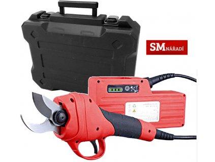 Strend Pro Profesional PSE-36, Aku nůžky na větvě 36V, 1x aku 4,0Ah, nabíječka, kufr