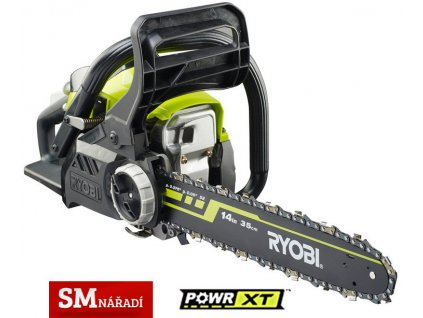 Ryobi RCS 3835 T Benzínová řetězová pila 37m3, 350mm