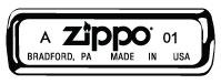 Kódování Zippo zapalovačů