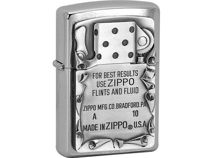 Zapalovač Zippo 21561 Use Zippo Emblem