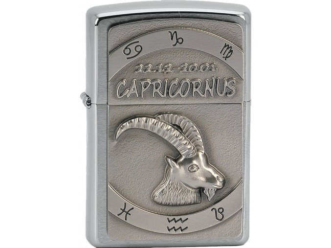 Zapalovač Zippo 21615 Capricornus Emblem