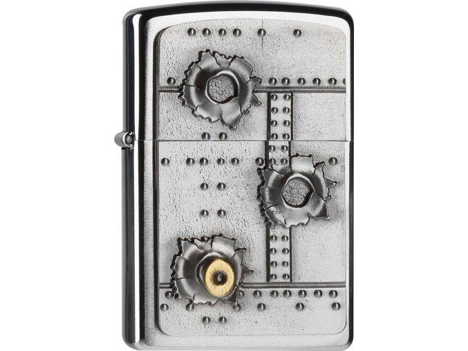 Zapalovač Zippo 21805 Bullet Holes 3D
