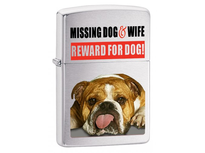 Zapalovač Zippo 21828 Missing Dog and Wife