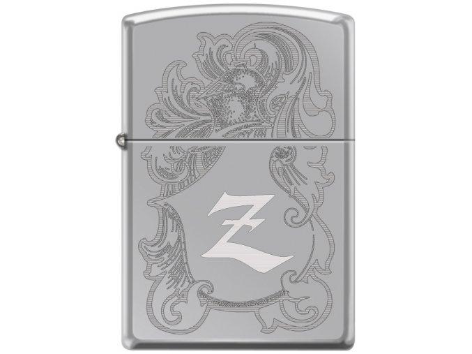 Zapalovač Zippo 22943 Helmet Shield & Feathers