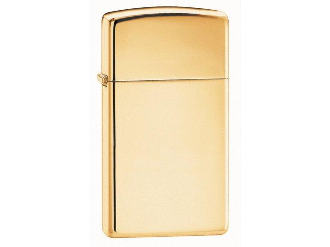 Zapalovač Zippo 24070 High Polish Brass Slim