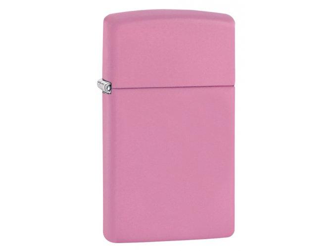 Zapalovač Zippo 26646 Pink Matte Slim
