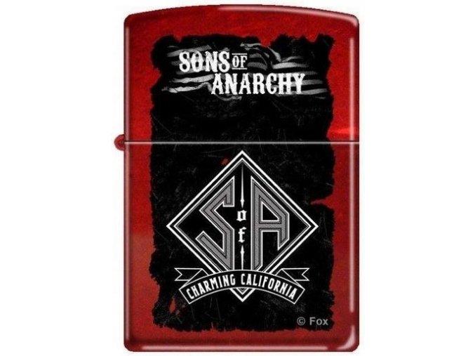 Zapalovač Zippo 26787 Sons of Anarchy