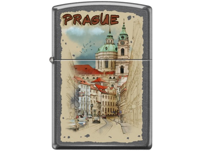 Zapalovač Zippo 26788 Prague Watercolors