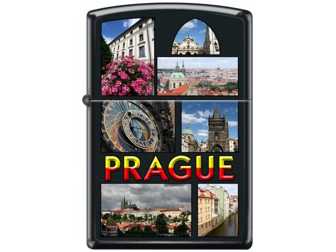 Zapalovač Zippo 26792 Prague Collage