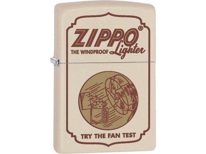 Zapalovač Zippo 26805 Zippo Fan Test