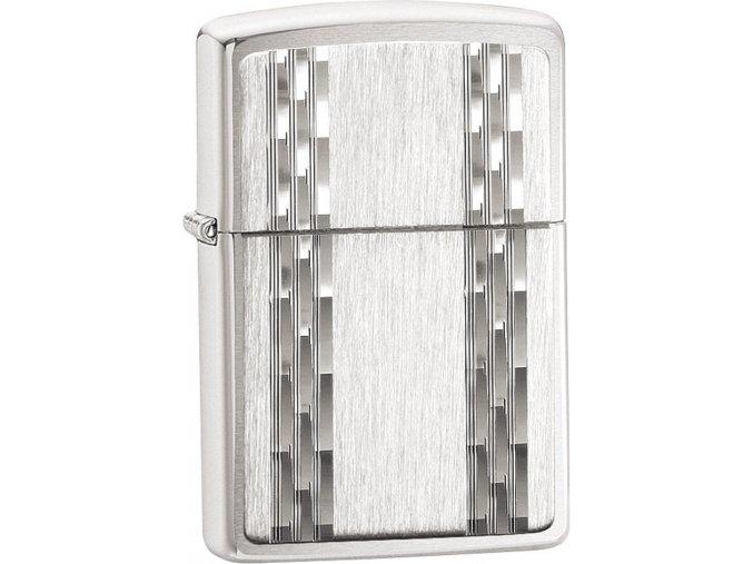 Zapalovač Zippo 30025 Vertical Diamond + spona