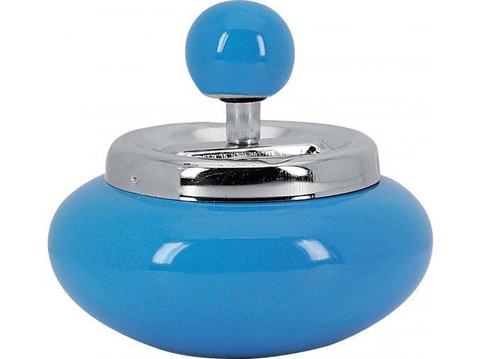 12712 Samozhášecí popelník modrý 120mm