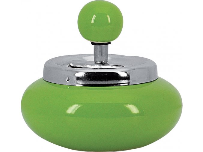 12713 Samozhášecí popelník zelený 120mm