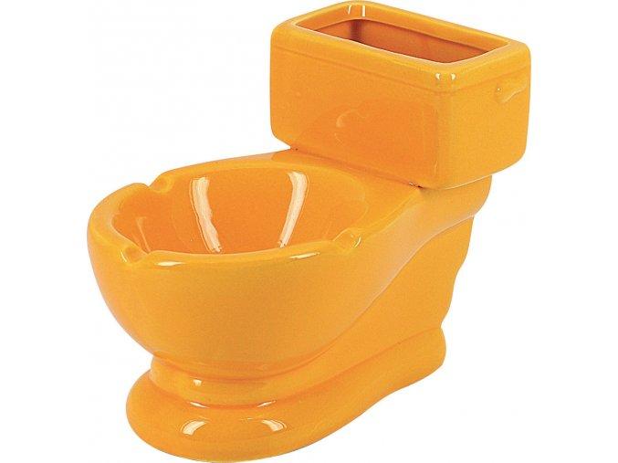 12759 Keramický popelník Toilet 100mm