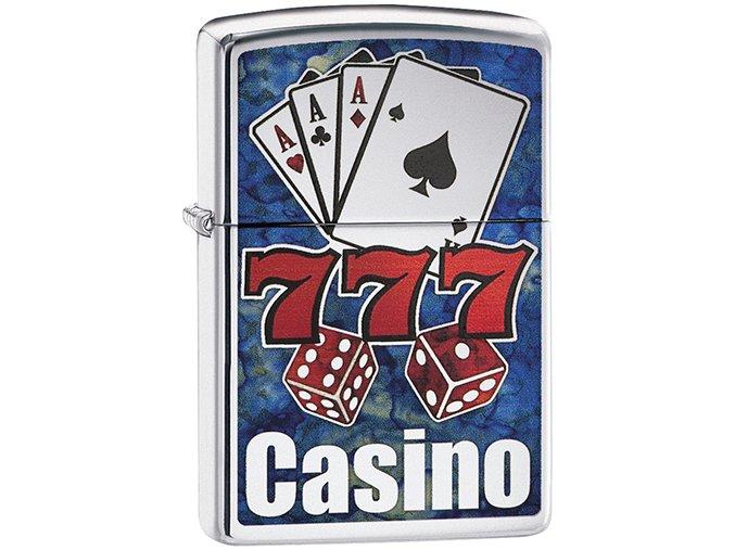 Zapalovač Zippo 22043 Fusion Casino