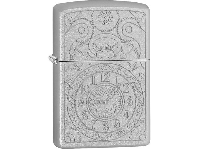 Zapalovač Zippo 20428 Clock Gadget