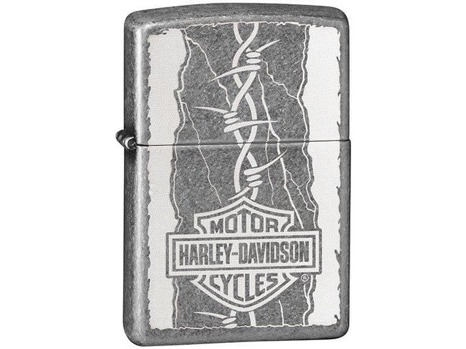 Zapalovač Zippo 27151 Harley-Davidson® Barb Wire