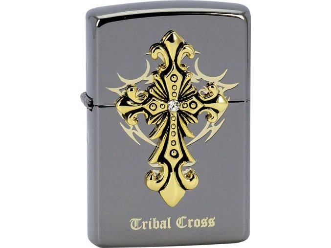 Zapalovač Zippo 28160 Tribal Cross Emblem
