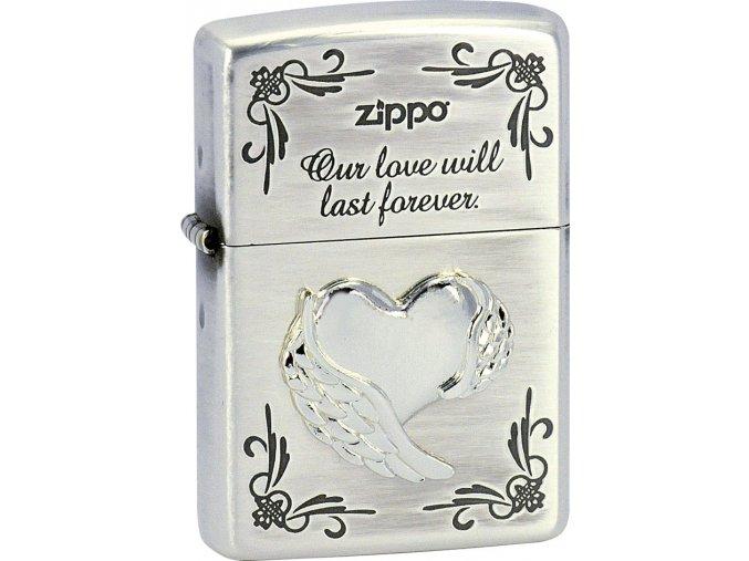Zapalovač Zippo 28180 Wing Heart