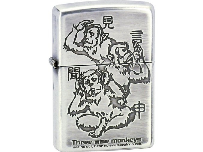 Zapalovač Zippo 28188 Three Wise Monkeys
