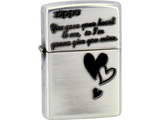 Zapalovač Zippo 28193 Triple Heart