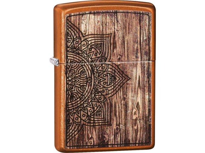 Zapalovač Zippo 26853 Wood Mandala Design