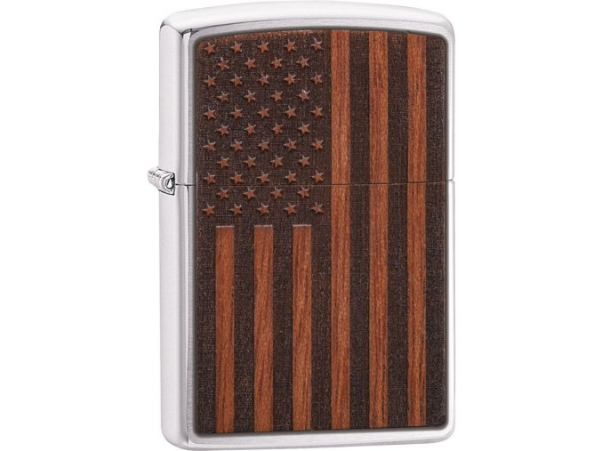 Zapalovač Zippo 21909 Woodchuck USA American Flag