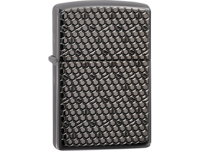 Zapalovač Zippo 25523 Hexagon Design