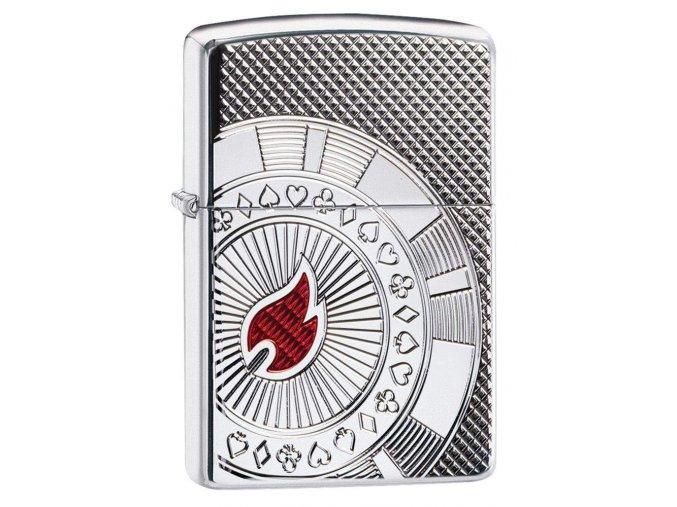 Zapalovač Zippo 22069 Poker Chip Design