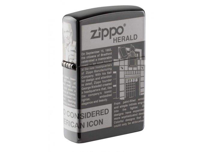 Zapalovač Zippo 25528 Zippo Newsprint Design