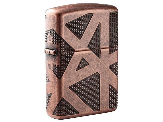 Zapalovač Zippo 27161 Geometric 360 Design