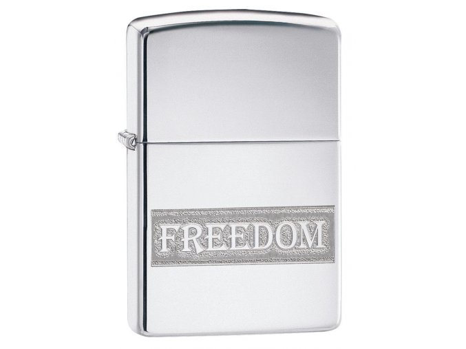 Zippo 22087 Etched Freedom Design