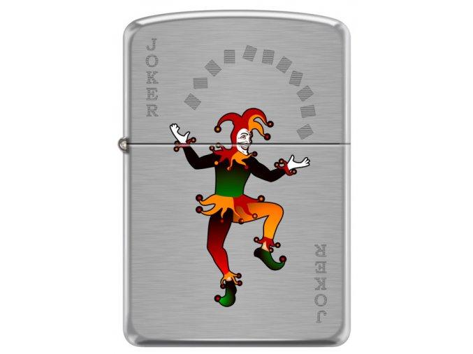 Zapalovač Zippo 21933 Joker Spade Design