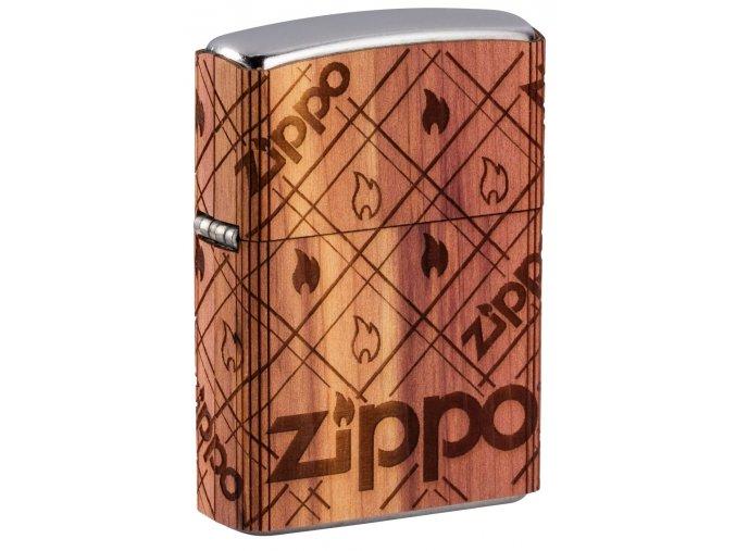 Zapalovač Zippo 25574 Zippo Cedar Wrap