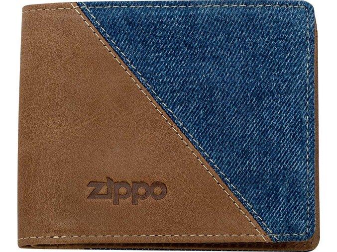 44156 Kožená peněženka Zippo