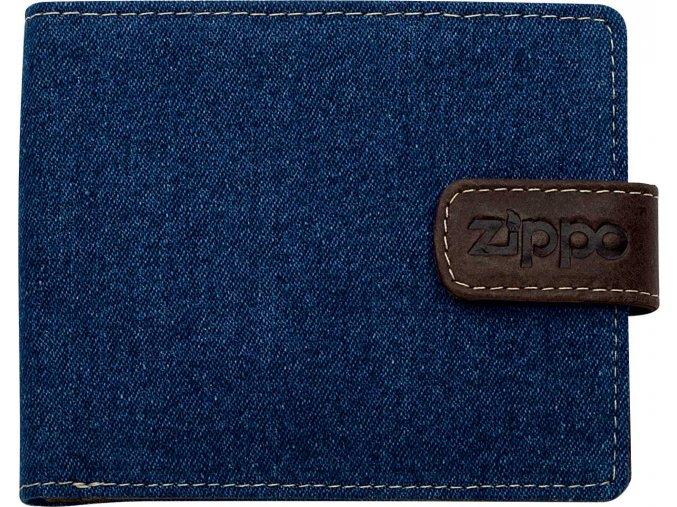 44157 Kožená peněženka Zippo