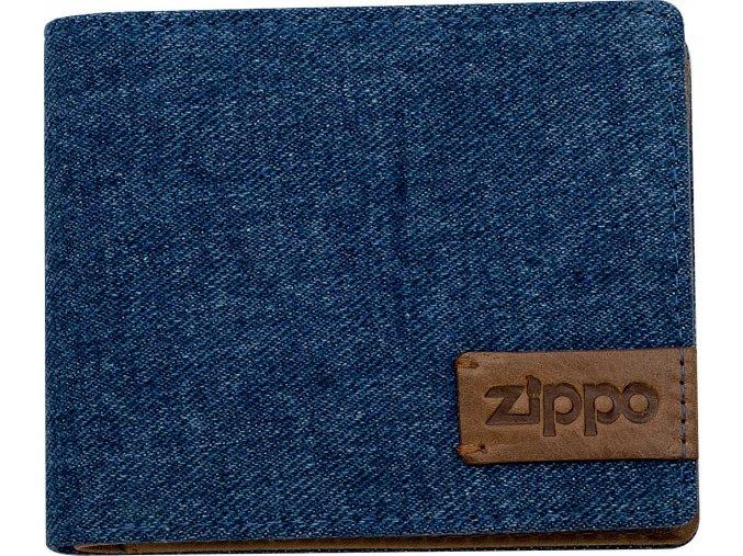 44158 Kožená peněženka Zippo